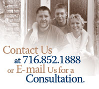 Contect us at 716-852-1888 or email us for a consultation
